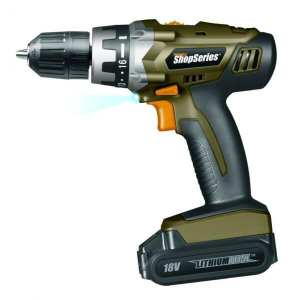 Rockwell SS2800 18-Volt ShopSeries Lithium Cordless Drill