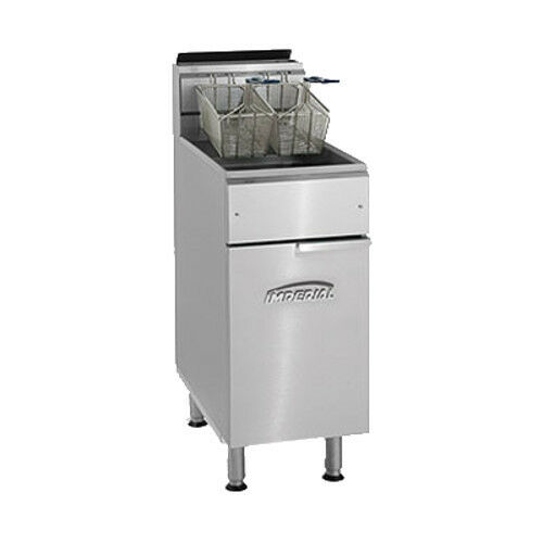 Imperial IFS-50 Full Pot Gas Fryer with 50 lb. Capacity