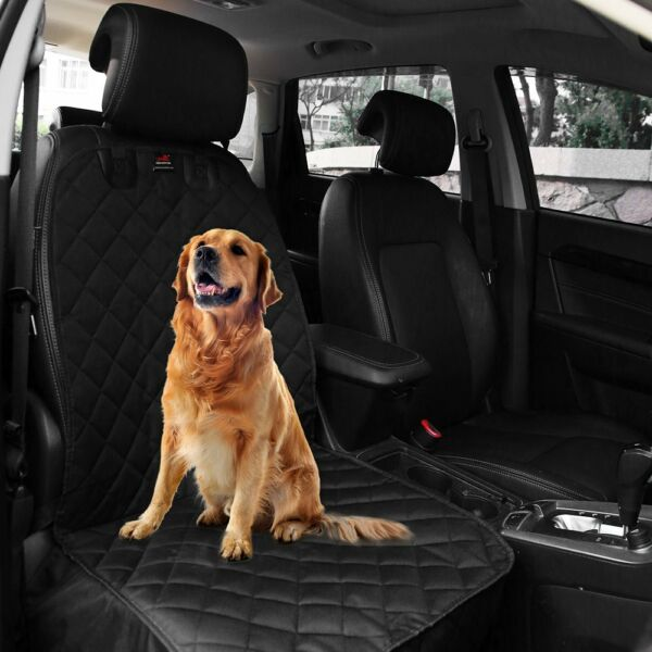 Waterproof Pet Dog Car Seat Cover Cars Trucks Non Slip Front Protector Quilted $21.15
