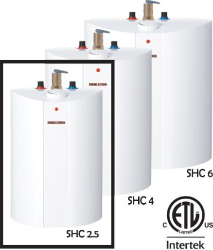 Stiebel Eltron SHC2.5 Mini-Tank Water Heater - 2.65 Gallons - New w Warranty