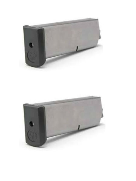 2 Pack Ruger Brand P90 P97.45 ACP 8 Round w UPLULA! Magazines EXTENDED  P345