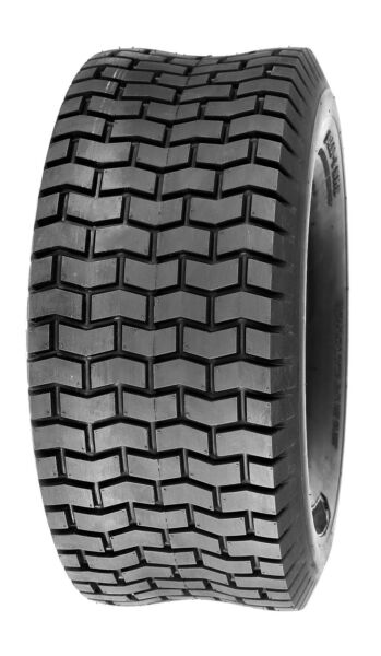 Deli Tire 15x6.00-6 Turf Tire 4 Ply Rating Tubeless Lawn Mower Tractor Tire