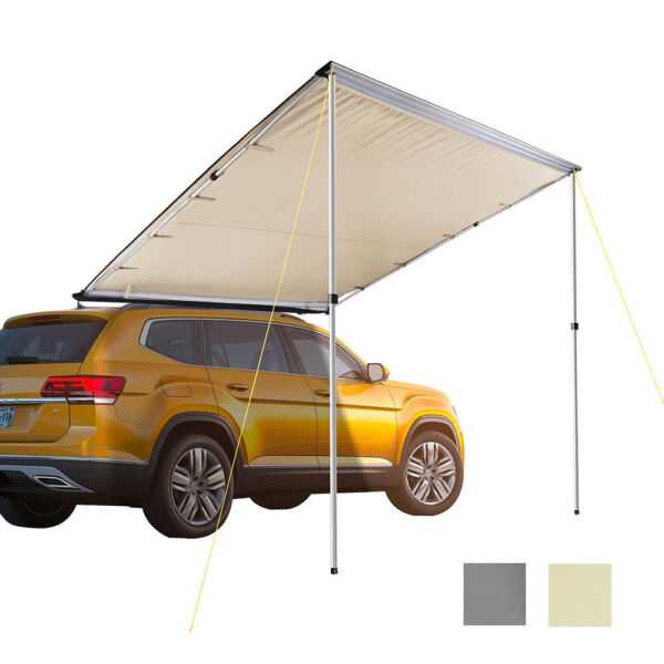 Car Tent Awning Rooftop SUV Truck Camping Travel Shelter Outdoor Sunshade Canopy $142.90