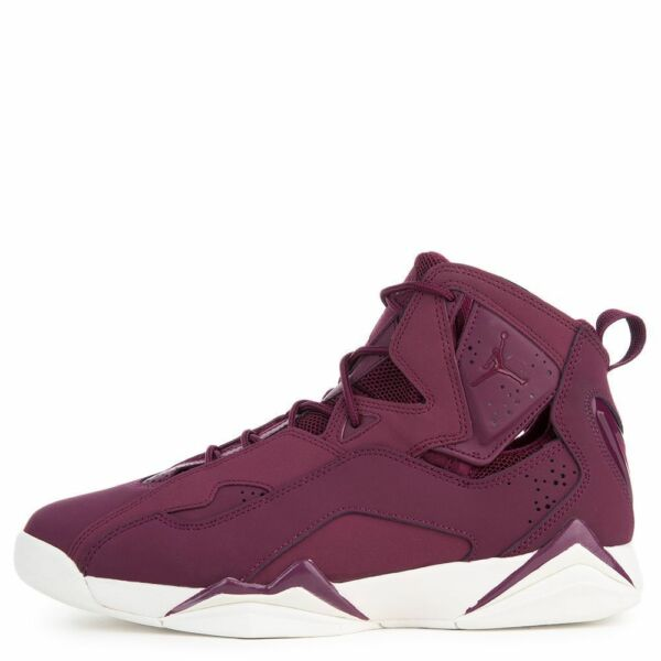 {342964-625} Men's Jordan True Flight Shoe Bordeaux/Sail *New* MSRP: $140