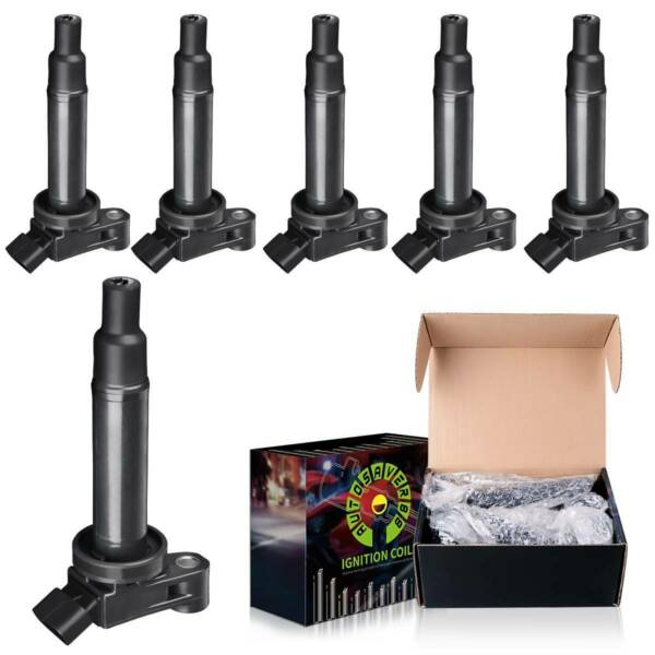 Pack of 8 Round Ignition Coils For Silverado Suburban Sierra 1500 2500 5.3L/4.8L