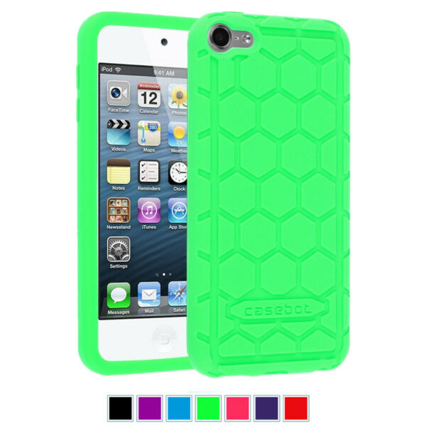Shock Proof Silicone Soft Case Cover For Apple iPod Touch 7th 6th 5th Gen $6.69