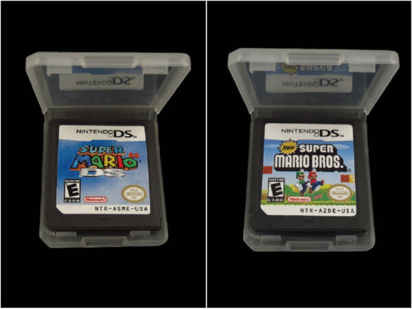 Super Mario 64 DS+Super Mario Bros Version Game Card For Nintendo 3DS DSI DS XL