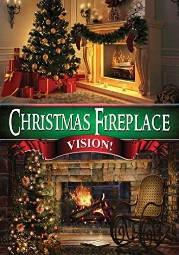 Christmas Fireplace Vision [New DVD]