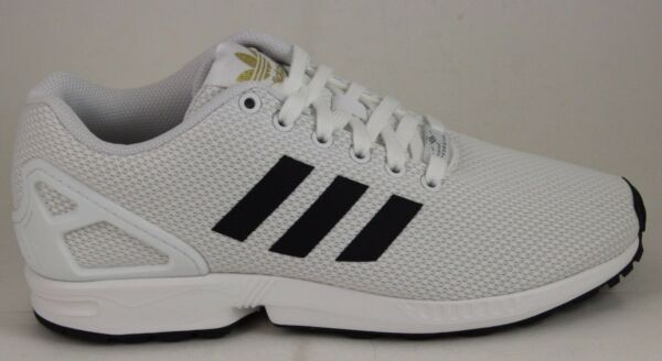 Adidas ZX Flux White/Black/Gold BA8655 Brand New in Box!!!