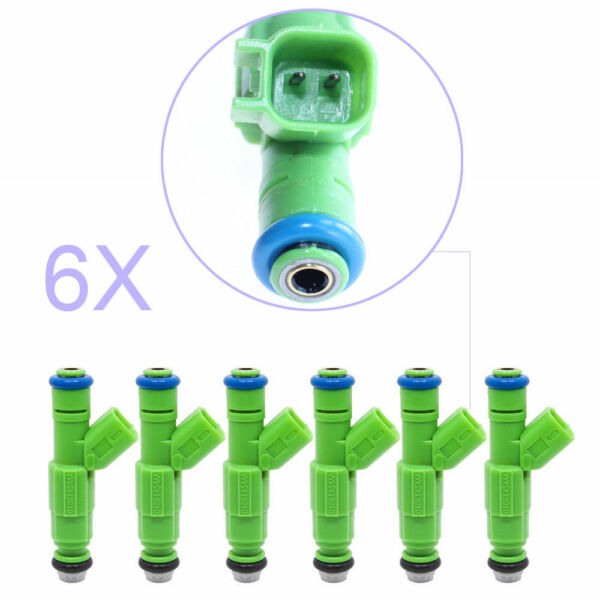 6 Pcs Quality Fuel Injectors Fit 2001-2007 Chrysler Town & Country 0280156007