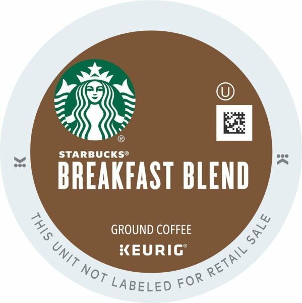 50 K Cups - Starbucks Breakfast Blend - Loose K Cups - 2.0 Compatible