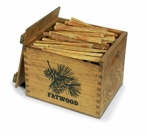Fatwood Novelty  Wood Crate 12# Kindling Decorative Fireplace Wood Stove Starter