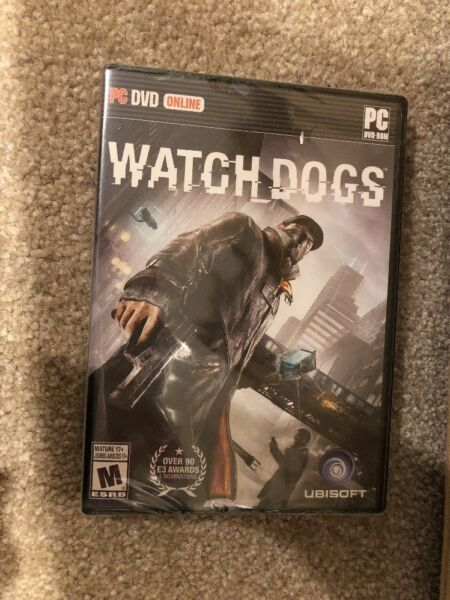 Watch Dogs ( PC DVD On Line ) - Brand New