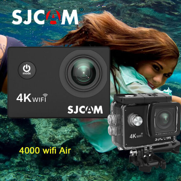 Original SJCAM 2.0'' SJ4000 AIR WiFi Waterproof Sport DV Action Full HD Camera
