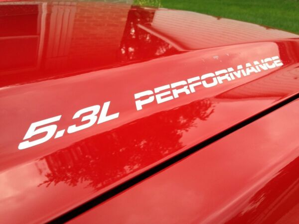 5.3L PERFORMANCE Hood sticker decals FOR Chevy GMC Silverado Sierra