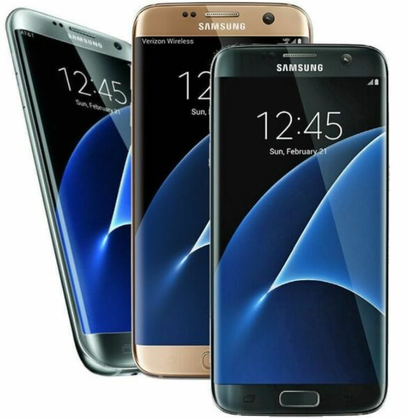Samsung Galaxy S7 Edge 32GB SM-G935 AT&T T-mobile GSM Unlocked-SHADED SCREEN