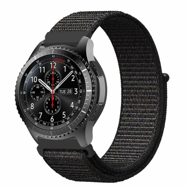 For Samsung Gear S3 Frontier Classic  Galaxy Watch 46mm Band Nylon Sport Loop