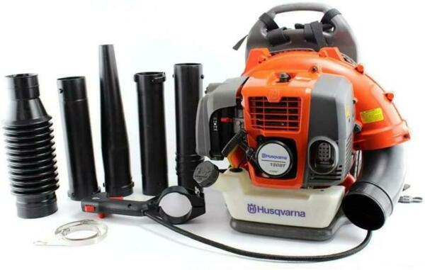 Husqvarna 150BT 50cc 2 Cycle Gas Commercial Leaf Backpack Blower with Harness