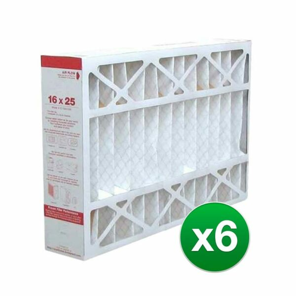 16x25x4 Air Filter Replacement for AC amp; Furnace MERV 11 6 Pack $131.95