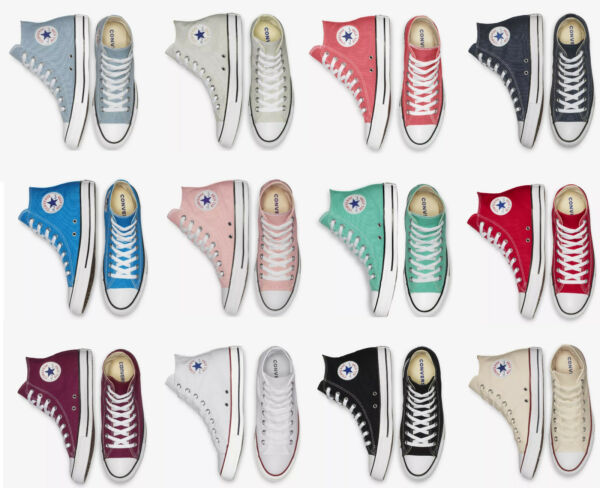 Converse Chuck Taylor All Star High Top Unisex Sneakers Casual Shoes NEW