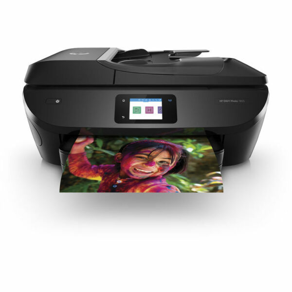 HP ENVY Photo 7855 All-in-One Printer with Wireless Direct Printing Ink Included