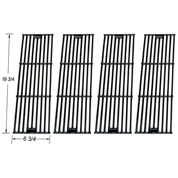 Chargriller 3001303040005050 Porcelain Coated Cast Iron grates SGX051-4 pack
