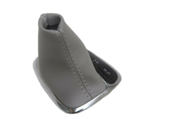 Automatic Boot Leather Synthetic for Mercedes Benz Class C 01-09 Light Gray