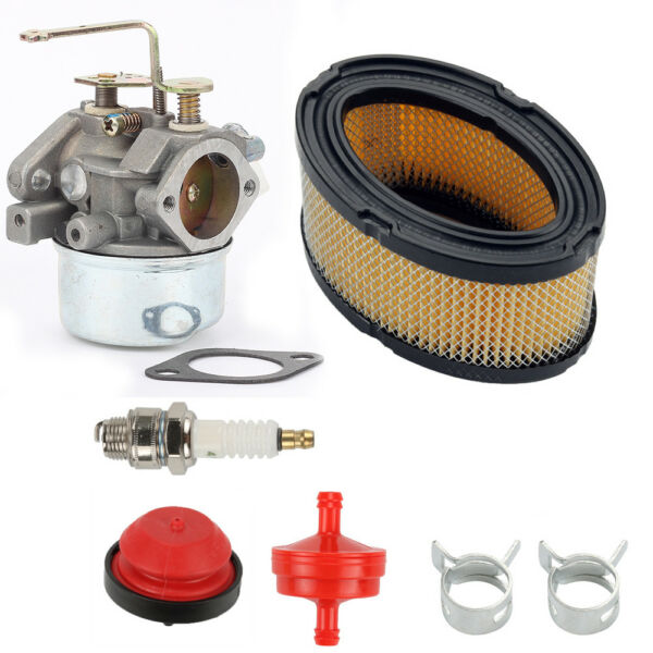 Carburetor Air filter for Tecumseh 640023 640140 HM80 HM90 HM100 LH318XA LH358EA