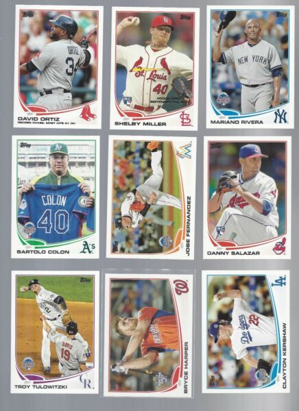 2013 TOPPS UPDATE #'S US86 - US330   STARS ROOKIE RC'S - WHO DO YOU NEED!!!