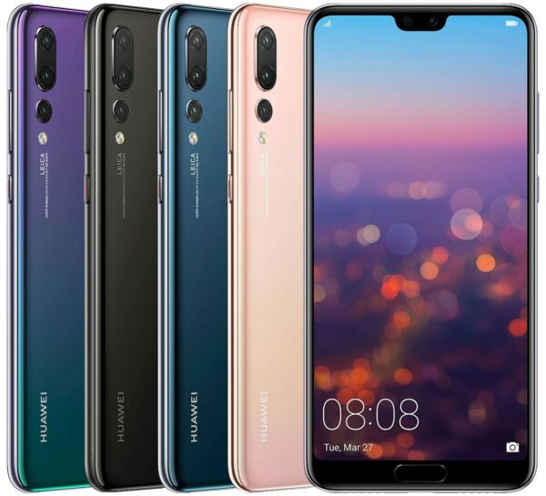 Huawei P20 Pro 128GB (FACTORY UNLOCKED) 6.1