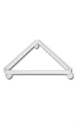 Gridwall Grid Wall Triangle Triangler Display Base Casters Rolling White 24
