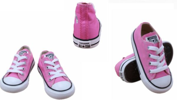 Converse  Infant toddlers(TD) ALL STAR CHUNK TAYLOR LOW PINK 7J238