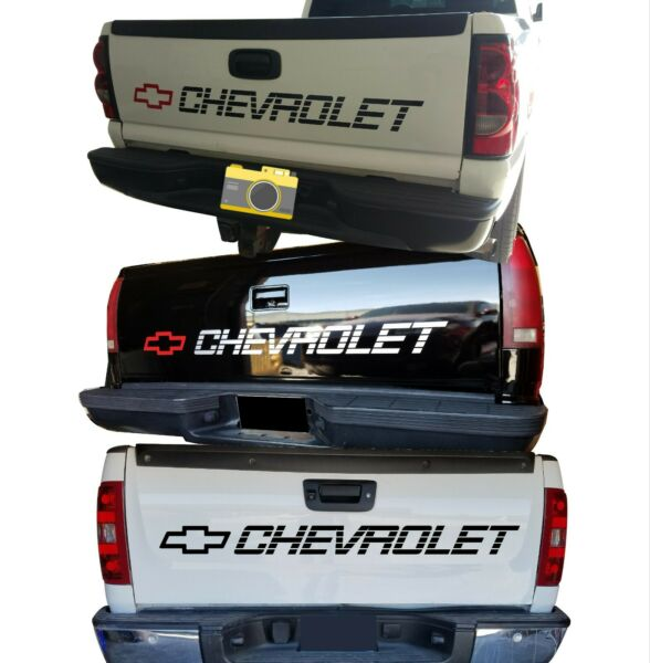 CHEVY 1500 454 Decals CHEVROLET Vinyl Sticker Silverado Bed Tailgate Letters