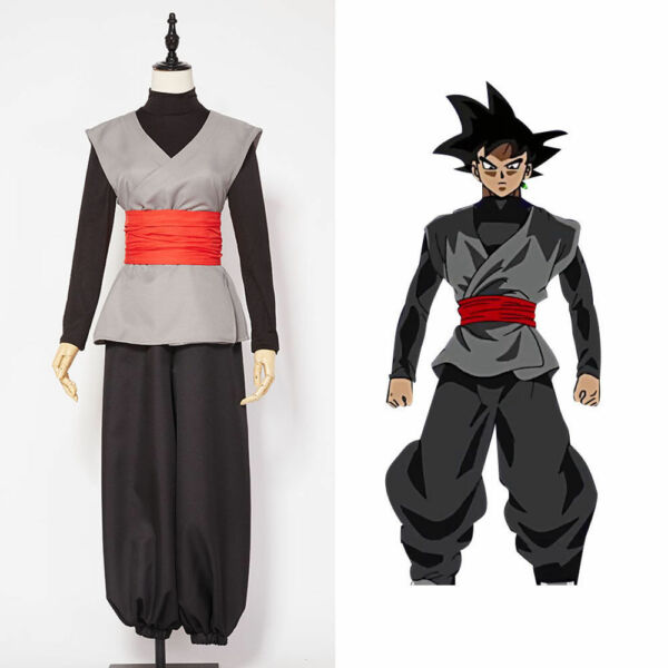 Dragonball S Dragon Ball Son Goku Black Zamasu Kai Cosplay Costume