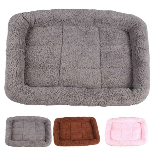 Pet Dog Puppy Cat Warm Bed Cushion Mat Pad House Cage Kennel Crate Cozy Soft US