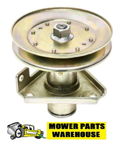NEW REPL JOHN DEERE DECK BLADE SPINDLE ASSEMBLY AM124511 STX46 STX48 BLACK DECK