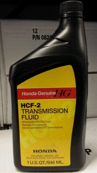 GENUINE HONDA OEM HCF TRANSMISSION FLUID (08200-HCF2) (PACK OF FOUR)
