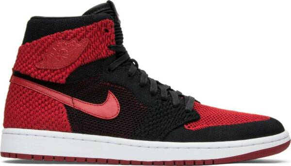 Nike Air Jordan 1 Retro High OG Flyknit 'Bred' 919704-001 lot