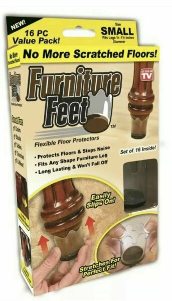 Furniture Feet Stretchable Furniture Slider Pads Size Small $9.99