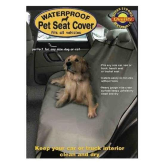 New Pet Dog Seat Cover for Car waterfproof removed from box for shipping cost $12.99