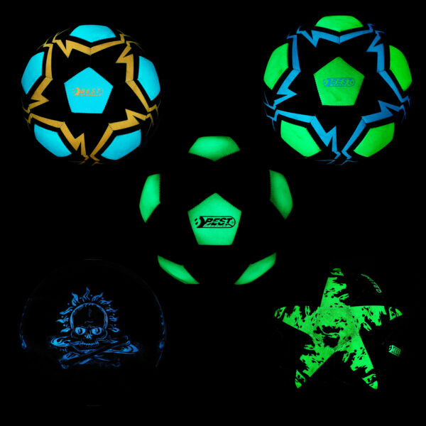 Best Sporting Fußball Trainingsball Glow In The Dark Leuchtend Ball Bälle