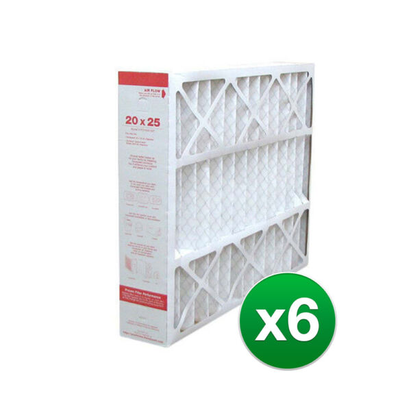 20x25x4 Air Filter Replacement for Honeywell AC amp; Furnace MERV 11 6 Pack $121.95