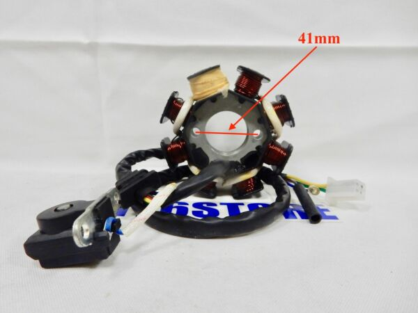 150cc GY6 8 COIL POLE AC STATOR MAGNETO FOR SCOOTER ATV 5 PIN 3 PLUG *TYPE 1* $13.96