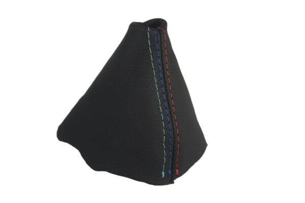 Automatic Shift Boot Real Leather for BMW E90 05-13 M Type Stitch