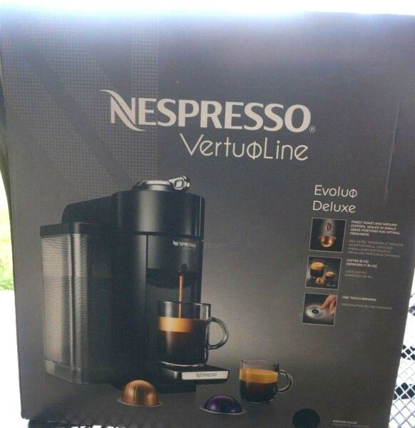 Nespresso VertuoLine Evoluo Deluxe Coffee and Espresso Maker Gray