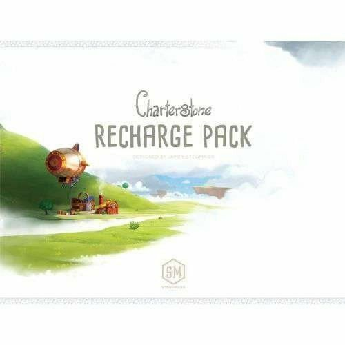 Charterstone Board Game Recharge Pack Box for a Second Campaign Stonemaier Games