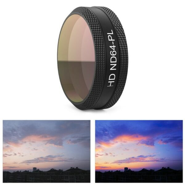 Durable ND64PL Camera Lens Filter for DJI Mavic Air Drone Accessories