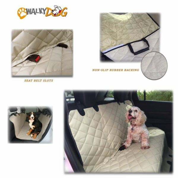 Walky Dog Deluxe XL Rear Seat Hammock Seat Cover for Full Size Cars Trucks... $19.99