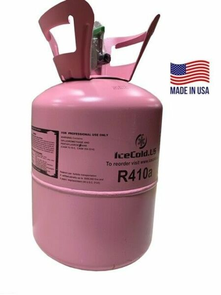 R410a R410a Refrigerant 11lb tank. New Factory Sealed Lowest Price