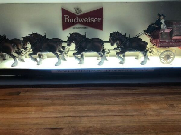 Budweiser World Champion Clydesdale Team - a priceless collectible!